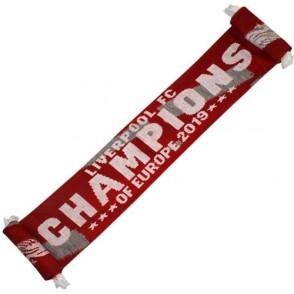 Κασκόλ Liverpool Champions  - Επίσημο προϊόν (100-100-853)