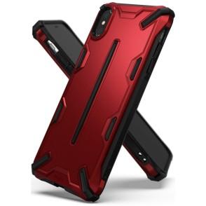 Ringke Dual X Θήκη iPhone XS Max - Iron Red (200-103-176)