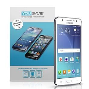 Μεμβράνη Προστασίας Οθόνης Samsung Galaxy J5 by Yousave - 5 Τεμάχια