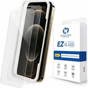 Whitestone Dome Glass EZ - Full Cover Tempered Glass Αντιχαρακτικό Γυαλί Οθόνης Apple iPhone 12 / 12 Pro - 2 Τεμάχια (8809365404513)