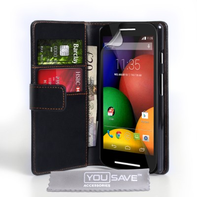Θήκη- πορτοφόλι Motorola Moto E