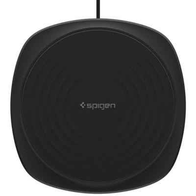 Wireless Charger Spigen Essential F305W Black