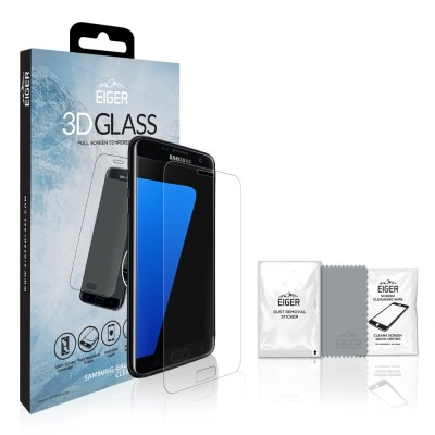 Eiger Galaxy S7 Edge 3D GLASS Clear (EGSP00117)