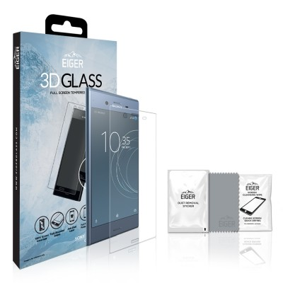 Eiger Xperia XZ1 Full Screen 3D GLASS (EGSP00148)