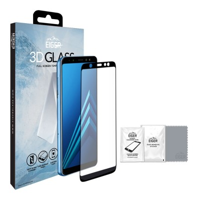 Eiger Galaxy A6+ 2018 Full Screen 3D GLASS (EGSP00267)