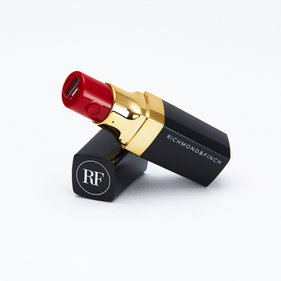 Richmond Finch | Lipstick Powerbank - Μαύρο (LIPSTICK-006)