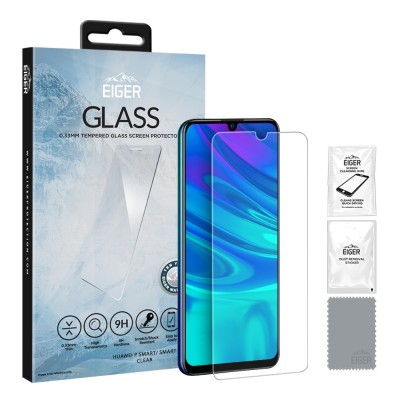 Eiger Huawei P Smart (2019 / 2020) 2.5D GLASS Clear (EGSP00463)