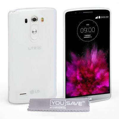 Θήκη σιλικόνης για LG G4 διάφανη