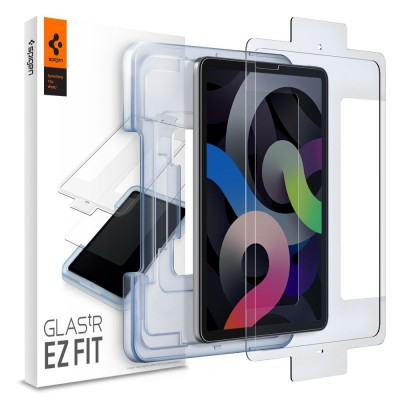 "Spigen Tempered Glass GLAS.tR EZ Fit - Αντιχαρακτικό Γυάλινο Screen Protector Apple iPad Air 4 2020 10.9"" (AGL02065)"