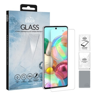 Eiger Galaxy A71 2.5D GLASS Clear (EGSP00574)