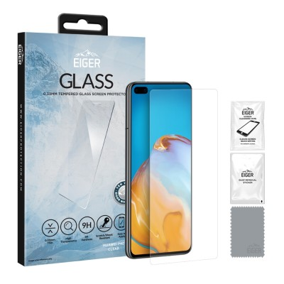 Eiger Huawei P40 2.5D GLASS Clear (EGSP00597)