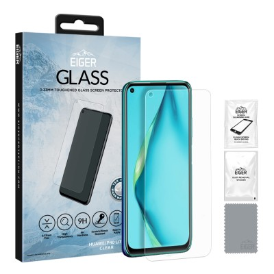 Eiger Huawei P40 Lite 2.5D GLASS Clear (EGSP00598)