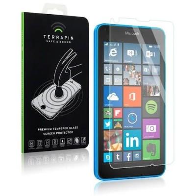 Αντιχαρακτικό γυάλινο Screen Protector για Microsoft Lumia 640. Κατασκευασμένο από γυαλί που έχει υποστεί ειδική θερμική επεξεργασία για να αυξηθεί η αντοχή του.