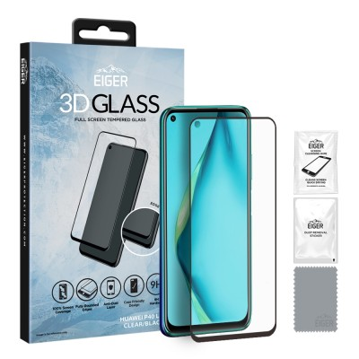 Eiger Huawei P40 Lite Full Screen 3D GLASS (EGSP00600)