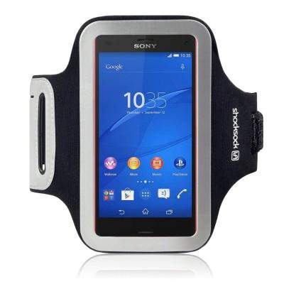 Μαύρη Θήκη Μπράτσου Sony Xperia Z3 Compact