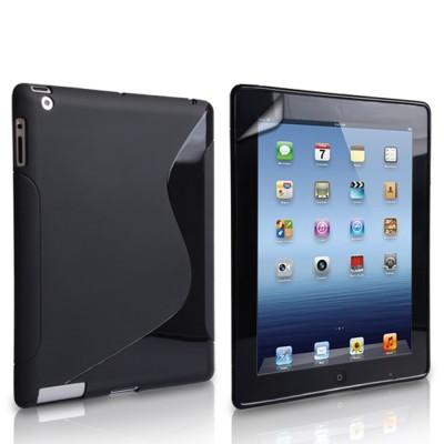 Θήκη σιλικόνης για APPLE iPad Mini 2,3 Μαύρη by Yousave
