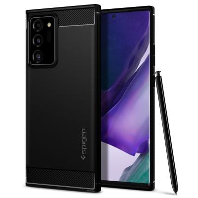 Spigen Galaxy Note 20 Ultra Rugged Armor Black (ACS01391)