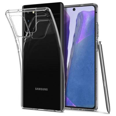 Spigen Θήκη Σιλικόνης Liquid Crystal Samsung Galaxy Note 20 - Crystal Clear (ACS01415)