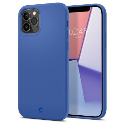 Spigen Silicone Navy iPhone 12 / 12 Pro (ACS01738)