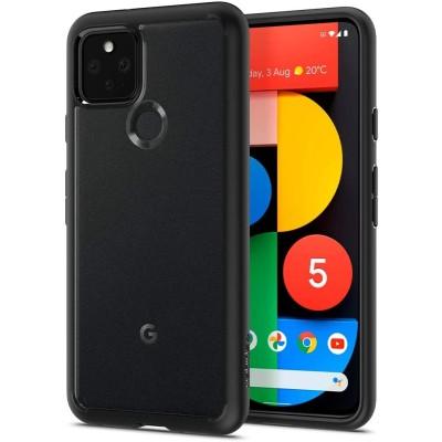 Spigen Θήκη Ultra Hybrid Google Pixel 5 - Matte Black (ACS01898)