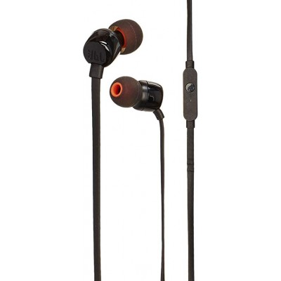 JBL Tune 110 Handsfree Ακουστικά - Black (200-104-418)