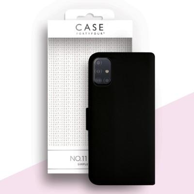 Case FortyFour Galaxy A51 No. 11 Black (CFFCA0347)