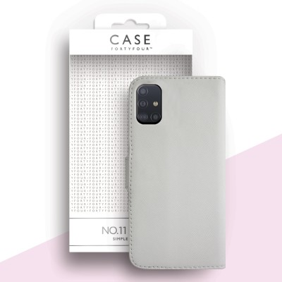 Case FortyFour Galaxy A51 No. 11 White (CFFCA0353)