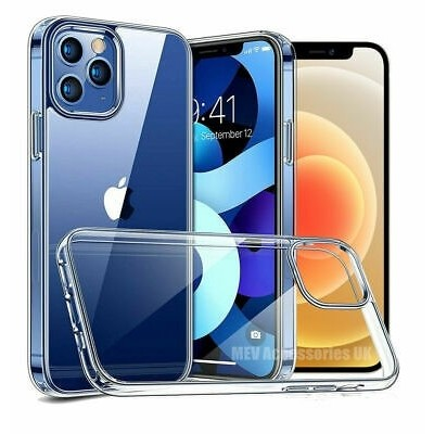 Bodycell Θήκη Σιλικόνης iPhone 12/12 Pro Transparent (200-107-195)