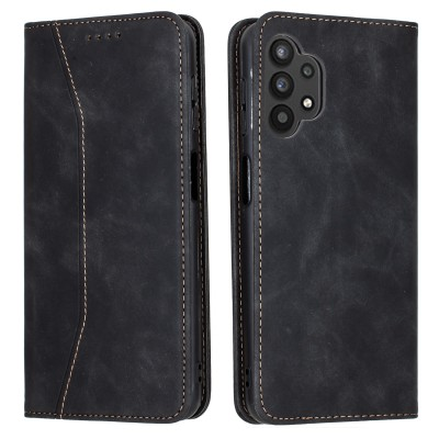 Bodycell Book Case Pu Leather For Samsung A32 5G Black