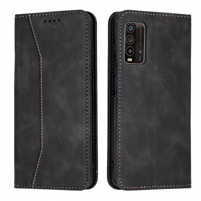 Bodycell Book Case Pu Leather For Xiaomi Redmi 9T Black (04-00637)