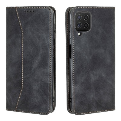 Bodycell Book Case Pu Leather For Samsung Galaxy A22 4G Black (200-108-561)