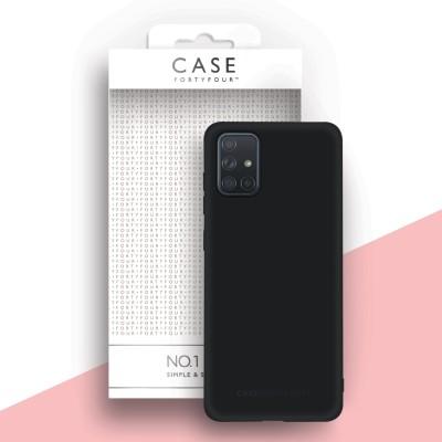 Case FortyFour Galaxy A71 No. 1 Black (CFFCA0415)