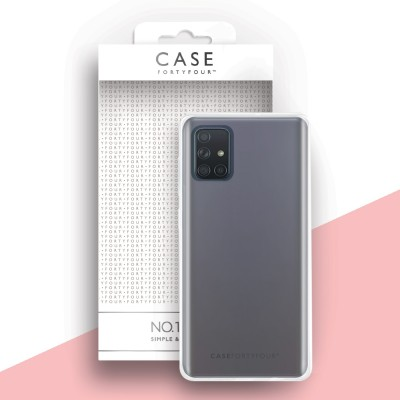 Case FortyFour Galaxy A71 No. 1 Clear (CFFCA0416)