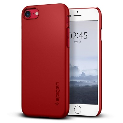 Spigen iPhone 8/7 Thin Fit Red (042CS22381)