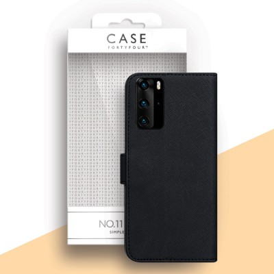 Case FortyFour Huawei P40 Pro No. 11 Black (CFFCA0436)