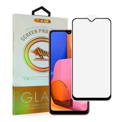 T-Max Premium 3D Tempered Glass Full Glue Fluid Despensing - Αντιχαρακτικό Γυαλί Οθόνης Samsung Galaxy A20s - Black (05-00123)