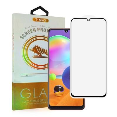 T-Max Premium 3D Tempered Glass Full Glue - Αντιχαρακτικό Γυαλί Οθόνης Samsung Galaxy A22 4G - Black (05-00183)