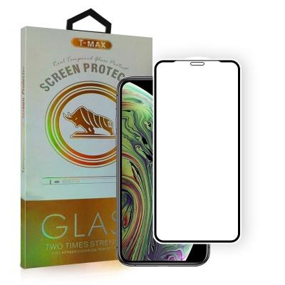 T-Max Premium 3D Tempered Glass Full Glue - Αντιχαρακτικό Γυαλί Οθόνης iPhone 13 / 13 Pro - Black (05-00186)