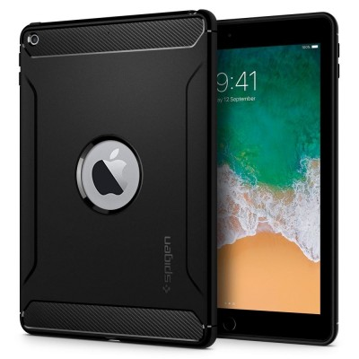 Spigen iPad 5th/6th Gen Rugged Armor Black (053CS24120)
