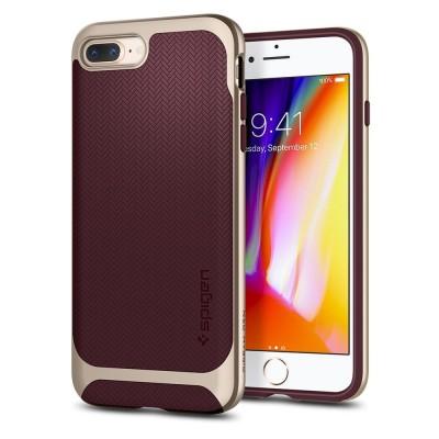 Spigen iPhone 8/7 Plus Herringbone Burgundy (055CS22228)