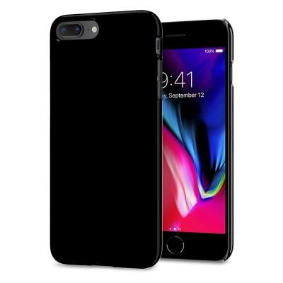Spigen iPhone 8 Plus Thin Fit Jet Black (055CS22240)