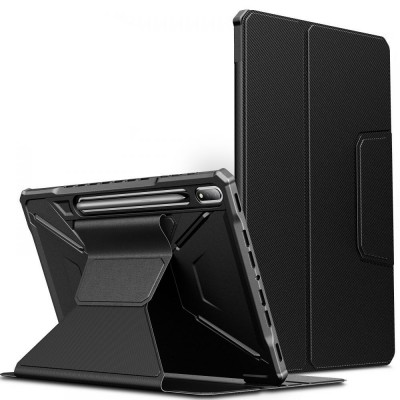 "Infiland Θήκη Multiple Angles Samsung Galaxy Tab S7 FE 5G 12.4"" T730 / T736B - Black (0563FD4-A)"