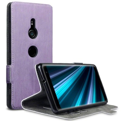 Terrapin Low Profile Θήκη - Πορτοφόλι Sony Xperia XZ3 - Purple