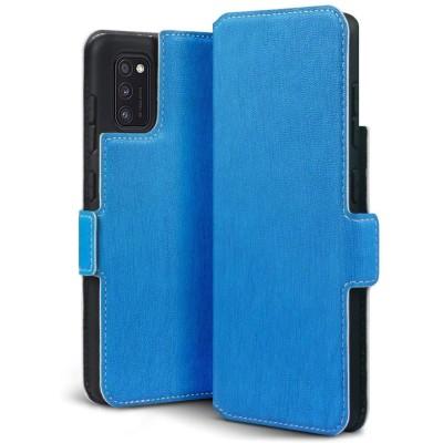 Terrapin Low Profile Θήκη - Πορτοφόλι Samsung Galaxy A41 - Light Blue (117-002a-284)