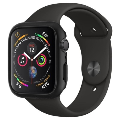 Spigen Apple Watch 4 44mm Case Thin Fit Black (062CS24474 )