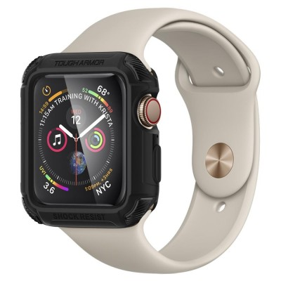Spigen Apple Watch 4 (44mm) Tough Armor Black (062CS24477)
