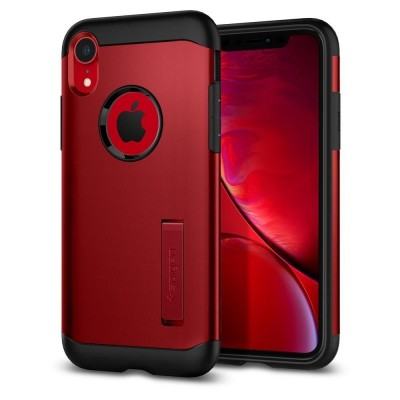 Spigen Slim Armor Θήκη iPhone XR - Merlot Red (064CS25148)