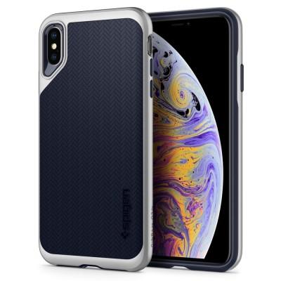 Spigen iPhone Xs Max Neo Hybrid Satin Silver (065CS24840)