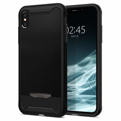 Spigen iPhone Xs Max Hybrid NX Black (065CS24944)