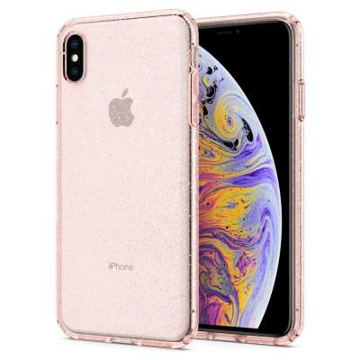 Spigen iPhone Xs Max Liquid Crystal Glitter Rose (065CS25124)